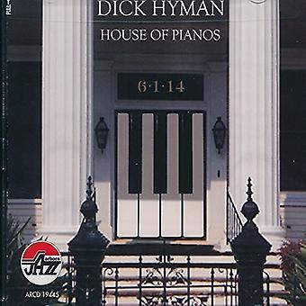 Dick Hyman - hus af klaverer [CD] USA import