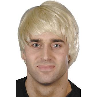Facet peruki męskie krótkie włosy perukę