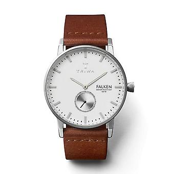 Triwa Unisex Watch wristwatch FAST103-CL010212 ivory Falcon leather