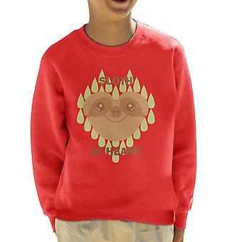 Lättja på hjärtat Kids tröja
