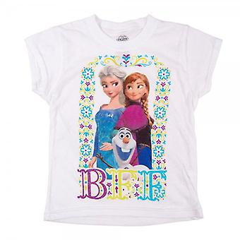 Frozen Childrens Frozen BFF T Shirt White
