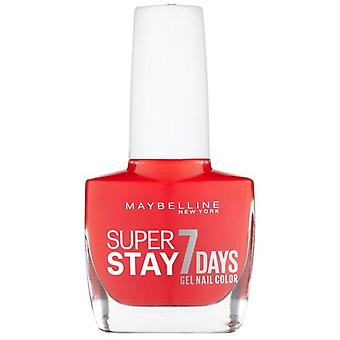 Maybelline Superstay 7 Days Gel Nail Color 493 Blood Orange