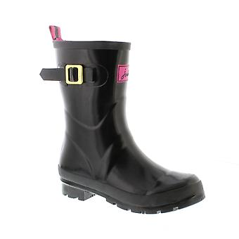 Kelly joules Welly - noir brillant synthétique Womens Wellies