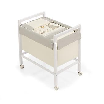 Interbaby Minicuna Square Star Model Bear Beige