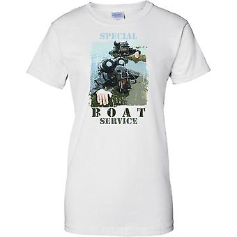 Special Boat Service - UK Special Forces - Ladies T Shirt