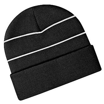 Beechfield Enhanced-viz Hi-Vis Knitted Winter Hat