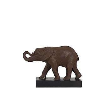 Light & Living Ornament 52x21,5x37 Cm ELEPHANT Antique Brown