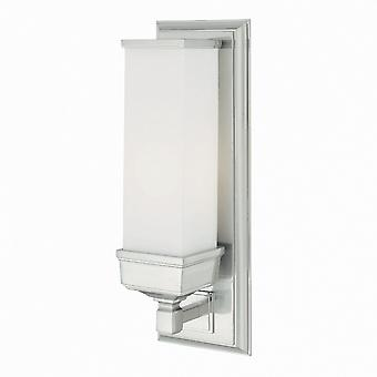 BATH/CM1 Cambridge 1 Light Polished Chrome IP44 Bathroom Wall Light