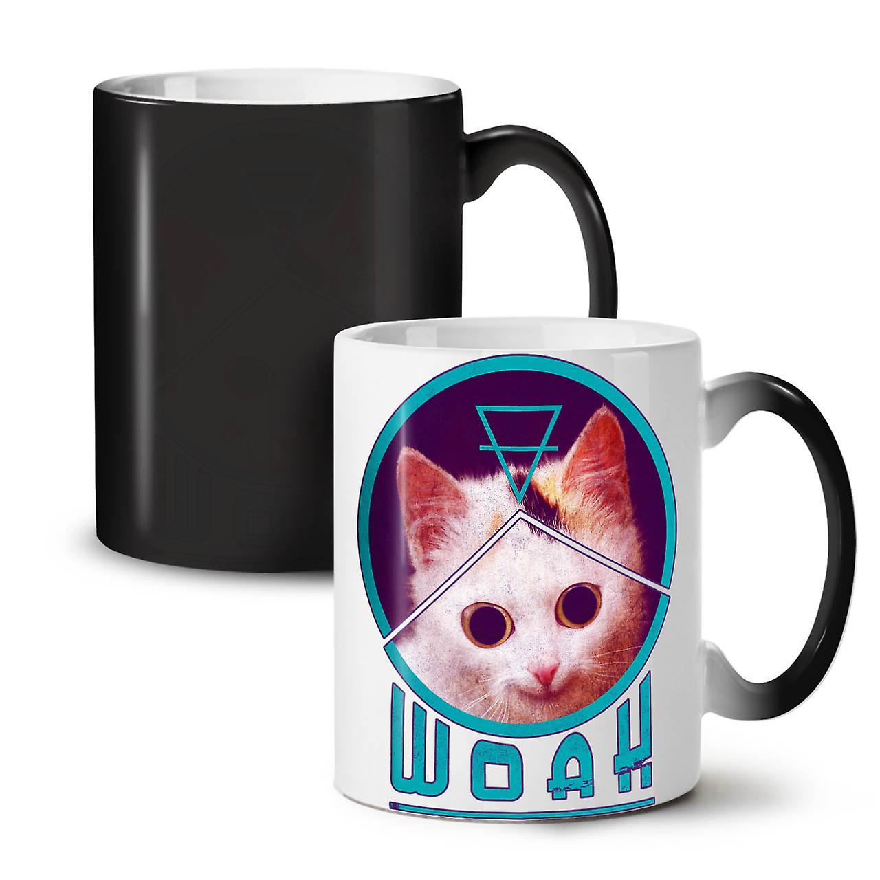 Drôle Couleur Céramique Tasse Changeant Noir Thé Nouveau De Woah OzWellcoda Café Cat 11 Drug Cool PwTikuOXZ
