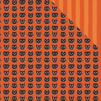 Trick Or Treat Double-Sided Cardstock 12