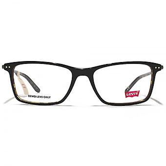 Levis Acetate Rectangle Glasses In Black