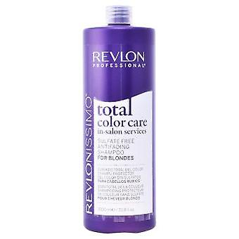 Revlon Total Color Care Antifanding Champú For Blondes 1000 ml (Hair care , Shampoos)