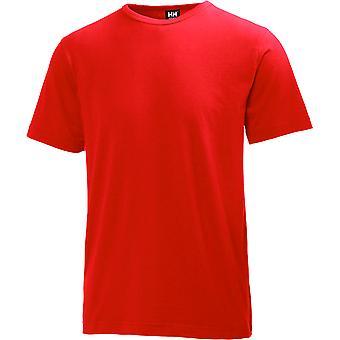 Helly Hansen Mens Manchester Cotton Ribbed Collar Workwear T-Shirt