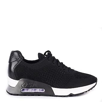 Ash LUCKY Trainers Black Knit