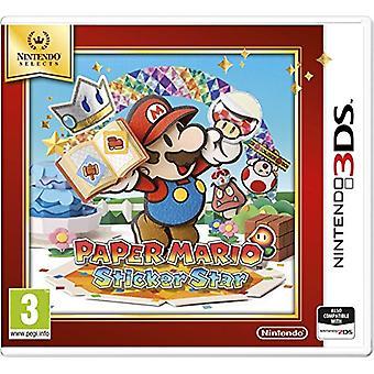 Nintendo Selects Paper Mario Sticker Star (Nintendo 3DS)