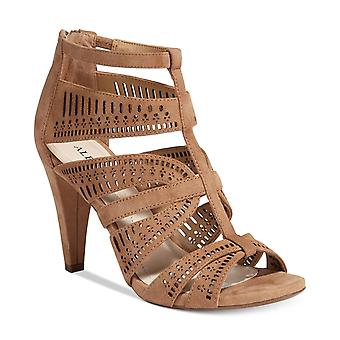 Alfani Womens CHOLEY Leather Open Toe Casual Ankle Strap Sandals