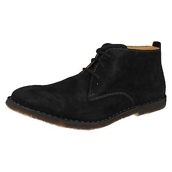Mens Hush Puppies Lace Up Ankle Boots Desert II