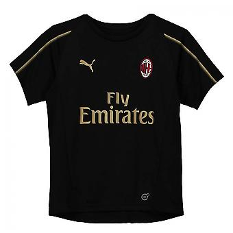 2018-2019 AC Milan Puma Training Shirt (Black) - Kids