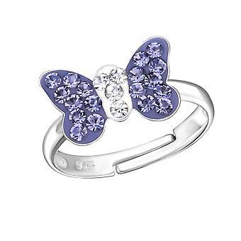Butterfly - 925 Sterling Silver Rings - W28180X