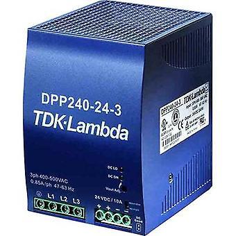Rail mounted PSU (DIN) TDK-Lambda DPP-240-48-1 48 Vdc 5 A 240 W 1 x