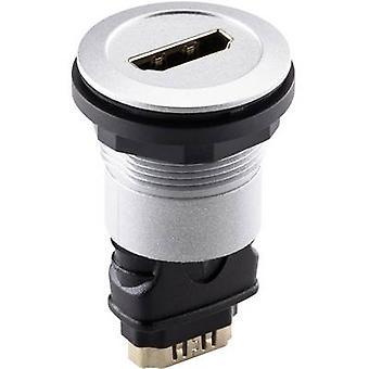 HDMI adapter HDMI socket - HDMI socket Schlegel RRJ_HDMI_STB 1 pc(s)