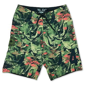 LRG R and Destroy Board shorts Fir Green Camo