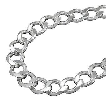 Chain 11 x 2, 1mm wide armor Silver 925