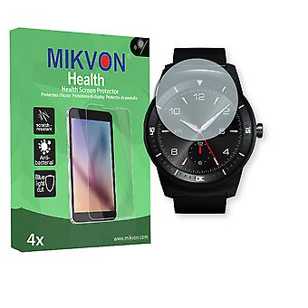 LG G Watch R Screen Protector - Mikvon Health (Retail Package with accessories)