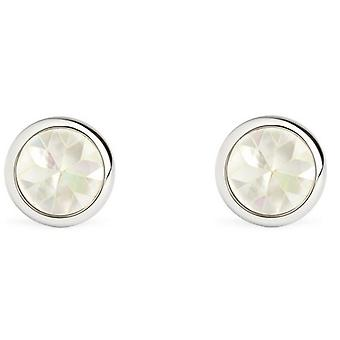 Simon Carter Mother of Pearl Kaleidoscope Cufflinks - White