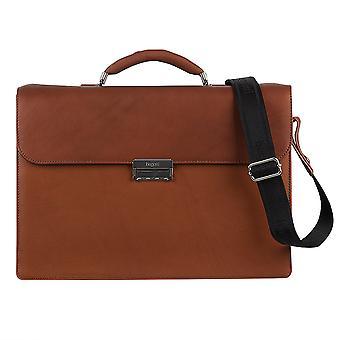 Bolsa de negocios de cuero Bugatti Sartoria maletín maletín 495458