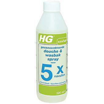HG-Dusche & Waschbecken Spray Refill 0,5 L
