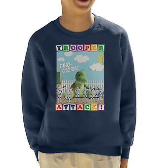 Ursprungliga Stormtrooper Dino Storm Trooper Attack Kids tröja