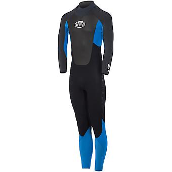 Animal Sea Blue Lava 5-4-3mm Long Sleeved Wetsuit
