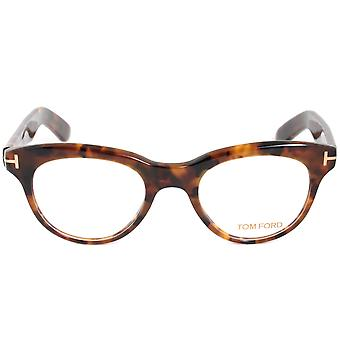 توم فورد FT5378 عين القط 52 | هافانا الظلام | إطارات النظارات
