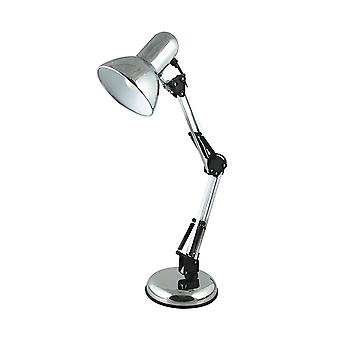 Lloytron L946CH Hobby Desk Top Lamp - Chrome