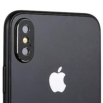 Cam camera protection protection ring for Apple iPhone XS 5.8 inch black 2Pcs high-quality