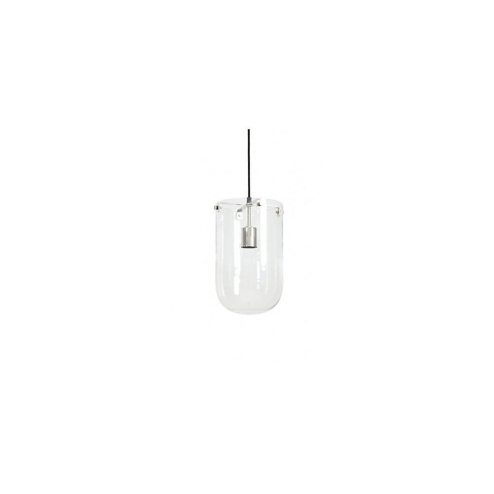Lumière & Living suspension lampe Ø21x26 Cm MABLE Glass Clear-nickel