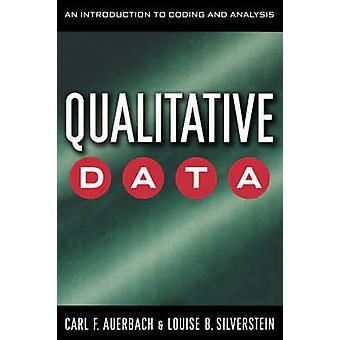 Kvalitative Data - en introduktion til kodning og analyse af Carl F.