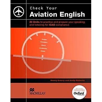 Tester votre anglais Aviation - SB + CD Audio par Henry Emery - 9780230402