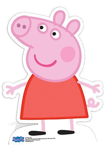 Peppa Pig Levensgrote Kartonnen Uitsnede / Standee