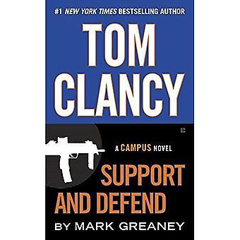 Tom Clancy apoyo y defender (novela de Campus)