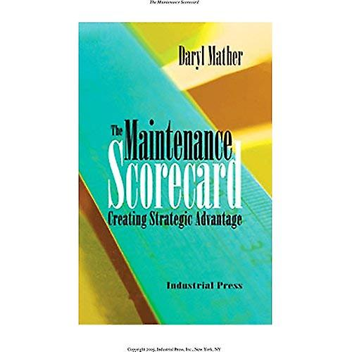 The Maintenance Scorevoitured  Creating Strategic Advantage