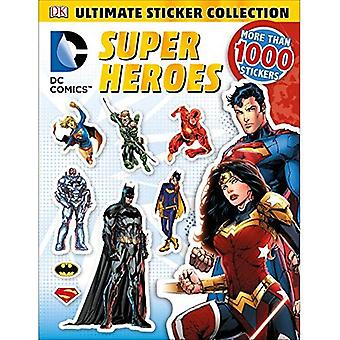 DC Comics Super Heroes (DK Ultimate Sticker Collections)
