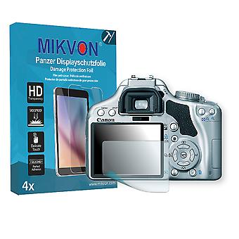 Canon EOS Kiss X2 Screen Protector - Mikvon Armor Screen Protector (Retail Package with accessories)