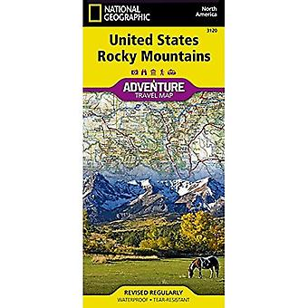 United States, Rocky Mountains Adventure Map