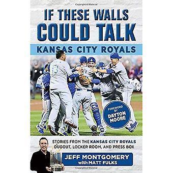 If These Walls Could Talk:� Kansas City Royals: Stories from the Kansas City Royals Dugout, Locker Room, and Press Box (If These Walls Could Talk)