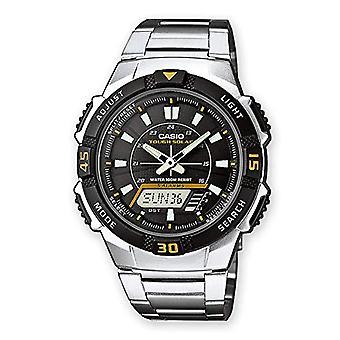 Casio analog-digital Watch quartz men with stainless steel strap AQ-S800WD-1EVEF