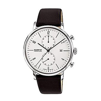 Dugena watch chronograph quartz men's watch with leather 7000239