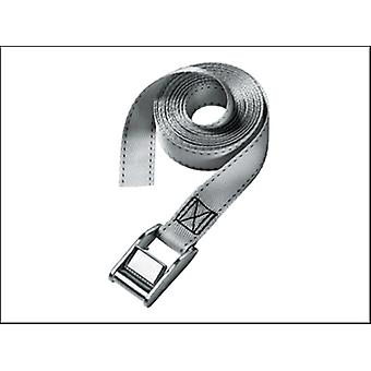 Master Lock Lashing Strap with Metal Buckle 2.5m 150kg Coloured