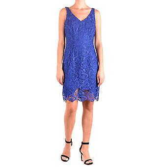 فستان رالف لورين الأزرق البوليستر